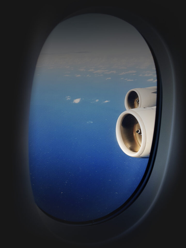 plane window - vip lounge access